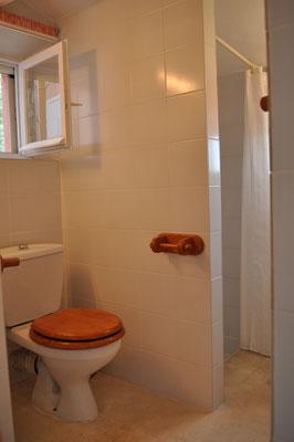 Rosa Haus - Bad mit WC und Dusche