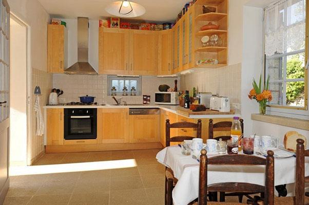 Rosie - die Küche mit direktem Ausgang ins Freie ...