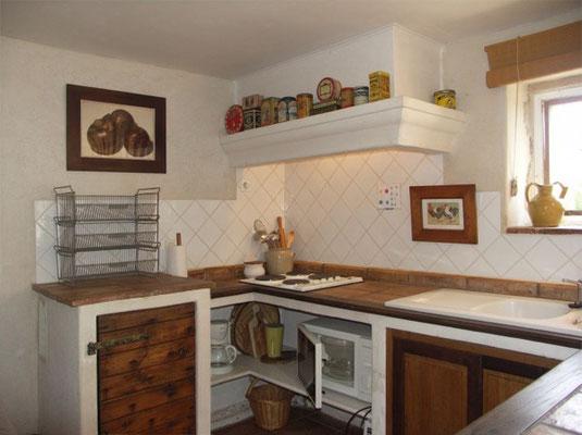 Les Peyrières - Ansicht der Küche