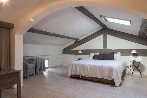 La Grange - Schlafzimmer im DG mit eigenem Bad ( Dusche)