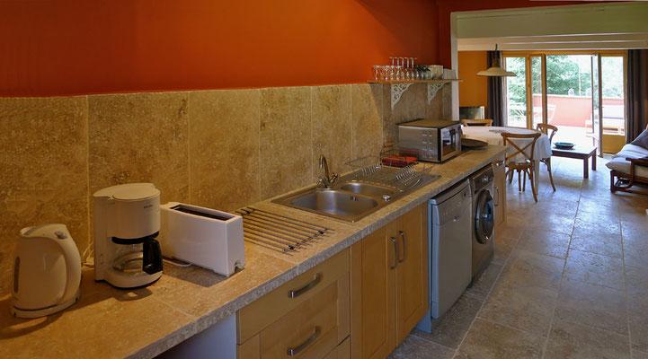 Laurier - Küchenansicht
