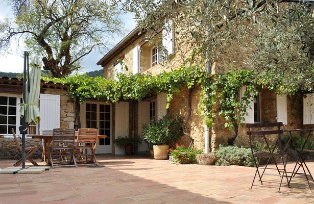 Garten Provence ferienhaus provenvce annies verträumte provence