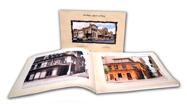 Avilés ayer y hoy - Fotografías, diseño y maquetación de libros