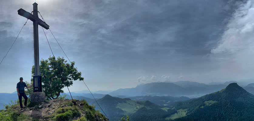 Kitzstein-Gipfel mit Aussicht