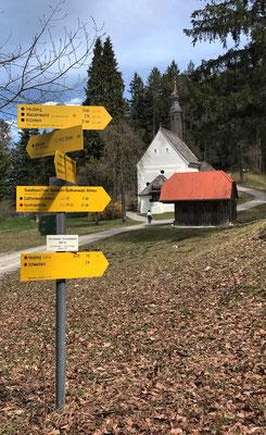 An der Wallfahrtskirche Kirchwald