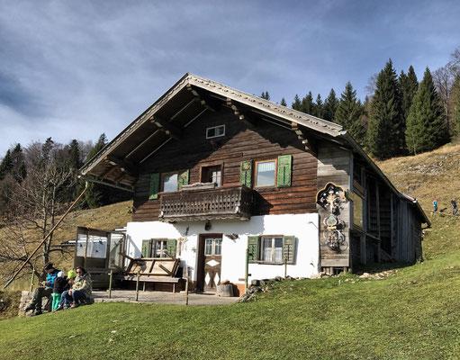 Bubenaualm am Abstiegsweg vom Kranzhorn