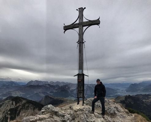 Gipfelkreuz am Geigelstein