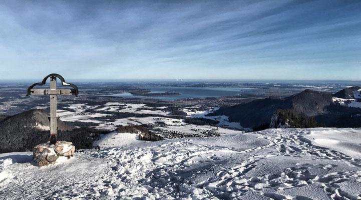 Laubenstein Gipfel im Winter