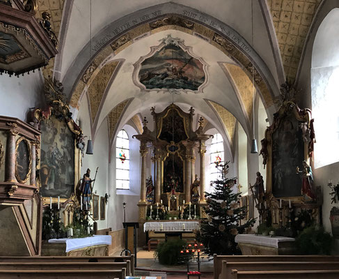 Kirche St. Ägidius und Nikolaus Grainbach