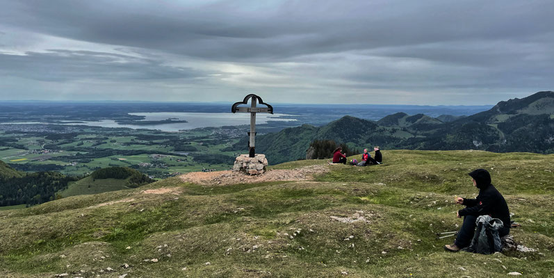 Am Laubenstein Gipfel