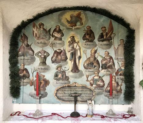 Dorfkapelle zu den 14 Nothelfern in Grainbach