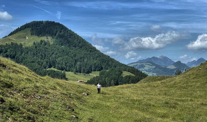 Abstieg zur Polz-Alm