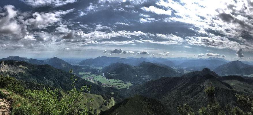 Gipfelpanorama am Breitenstein