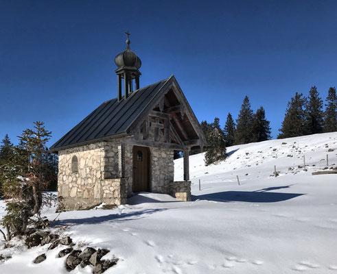 Kleine Almkapelle an der Riesen-Alm