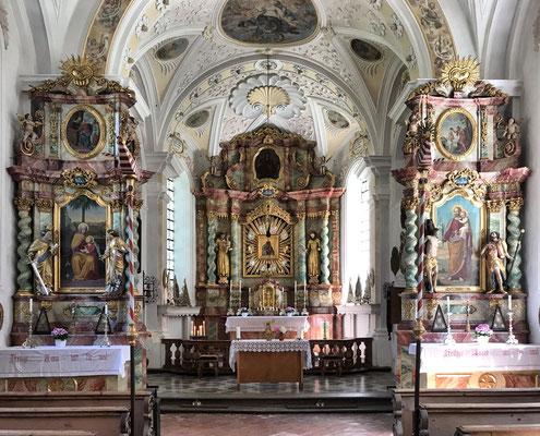 In der Wallfahrtskirche Kirchwald