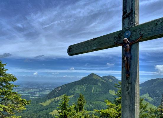 Gipfelkreuz am Pasterkopf