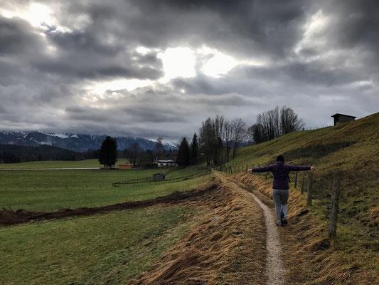 Von Atzing nach Prutdorf