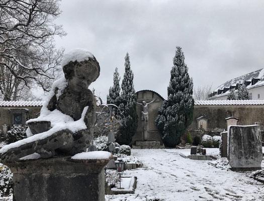 Friedhof am Kloster auf der Fraueninsel
