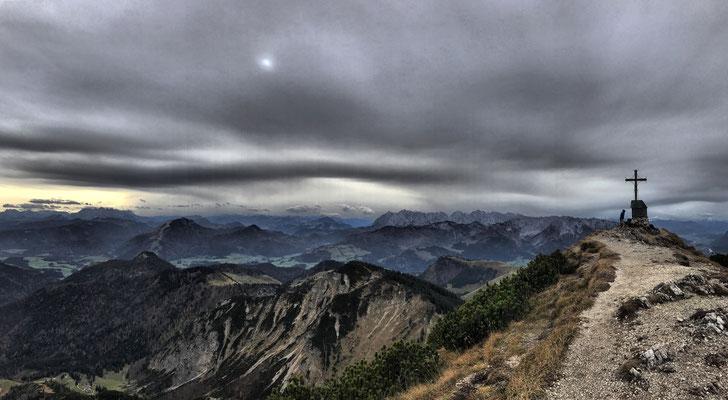 Geigelstein-Gipfelpanorama