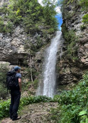 Am Trockenbach Wasserfall