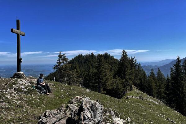 Am Riesenberg-Gipfel