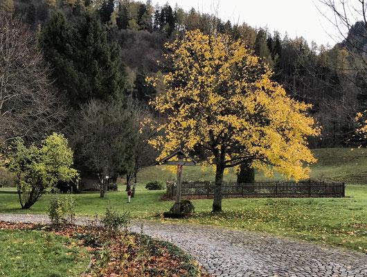 Feldkreuz zwischen Huben und Berg
