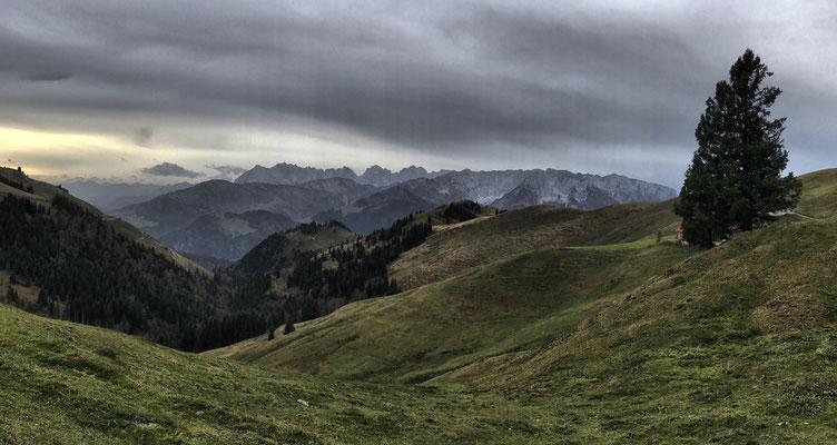 Zwischen Wandberghütte und Ackeralm