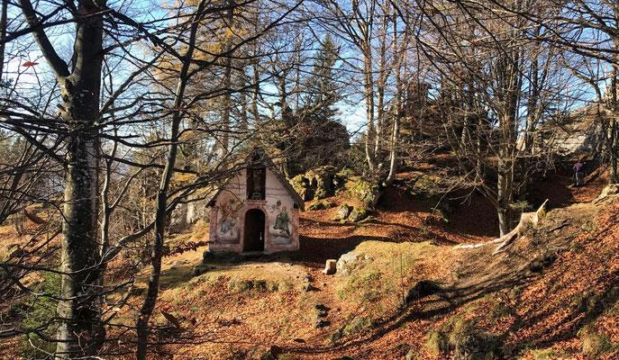 Kapelle am Kranzhorngipfel