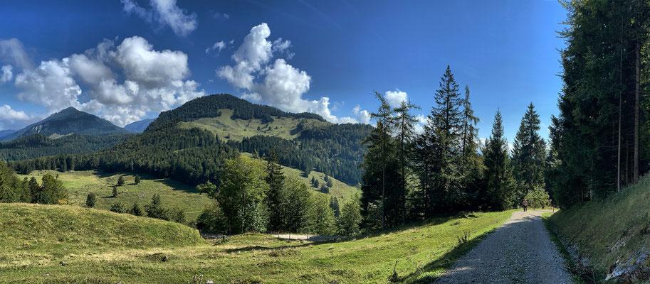 Aufstieg zur Kranzhorn Alm