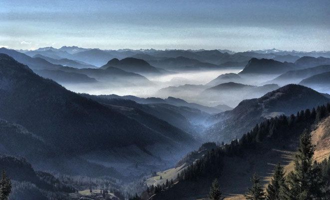 Traumhaftes Bergpanorama