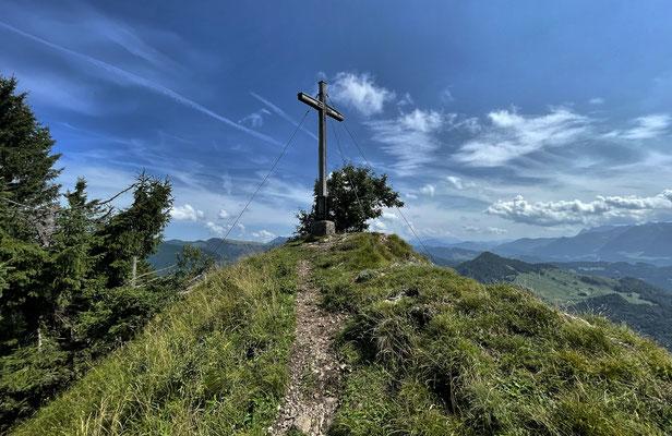 Gipfelkreuz am Kitzstein