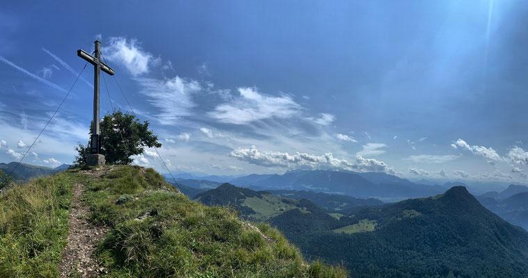 Ausblick vom Kitzstein-Gipfel