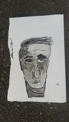 Tinte auf Papier 2016