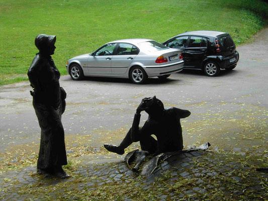 ... mit Blick auf modernes Teufelszeug (Fotos: Wolfgang Voigt)