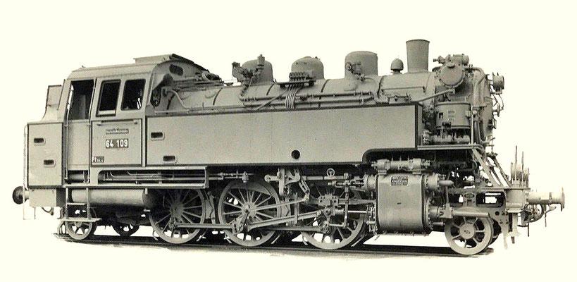 Tenderlok 64 109 von 1928