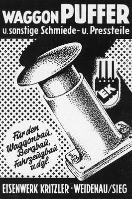 1953 Kritzler-Puffer aus Weidenau