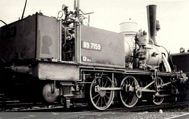 Die Moll'sche T3 wird aufgearbeitet, 1971