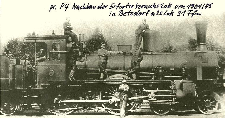 Betzdorf 1904: peußische P4