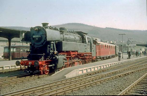 Betzdorf am 04.05.1969: Lok 65 013 auf Sonderfahrt