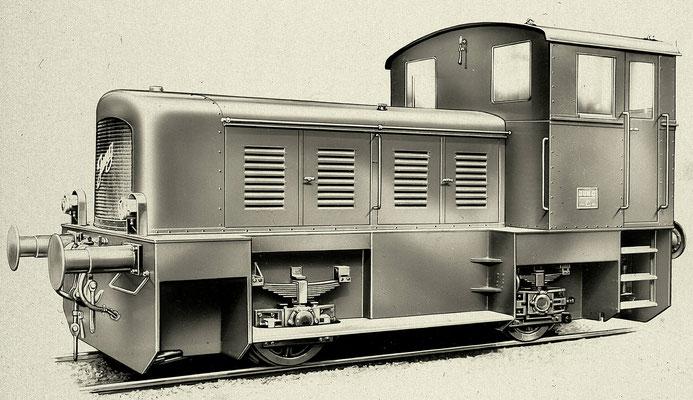 Diesellok RK20B von 1952