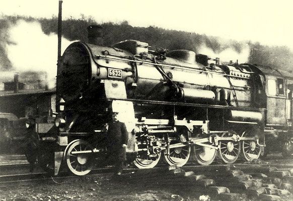 Betzdorf 1915: Lok 5623 (G12)