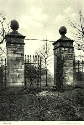 Tor zum Herrengarten 1910
