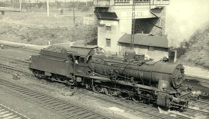 1963: Lok 57 2975 ist wieder munter im Rangierdienst tätig