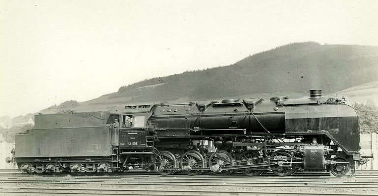 Altenhundem 1939: Lok 44 099 Bw Altenhundem