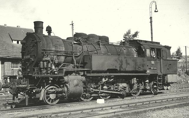 Die Erndtebrücker 93 1099 im September 1961 (Aufnahme: Gerhard Moll, Vormwald)