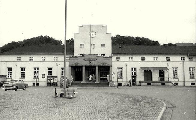 Dillenburg 1960: Empfangsgebäude