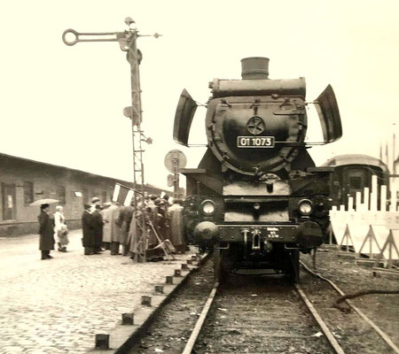 Giessen 1950: 01 1075 Bw Hagen-Eckesey mit Altbaukessel