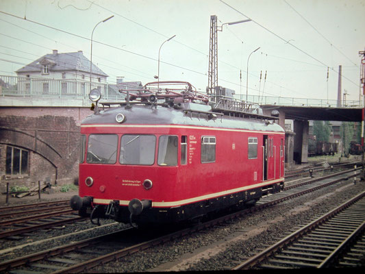 Turmtriebwagen VtV55 Wt 6225 Bw Siegen 1967 (Aufnahme: Dr. Richard Vogel)