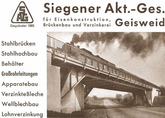 1962 Siegener A.G., Geisweid