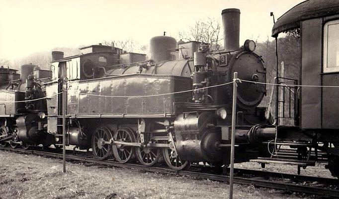 Lok 3 in Unterwilden 1961